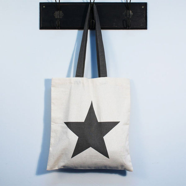 'Star' Cotton Tote Bag