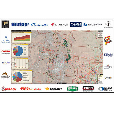 Bakken Niobrara Shale Map