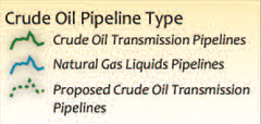 Crude Oil Natural Gas Pipeline Infrastructure