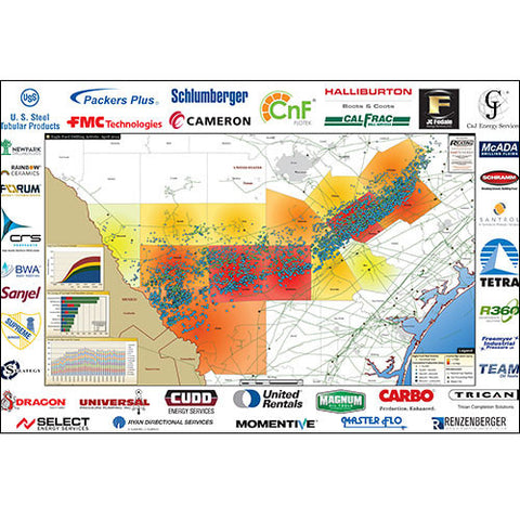 Eagle Ford Drilling Activities Map