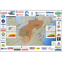 Marcellus and Utica Shale Map - Appalachian Map