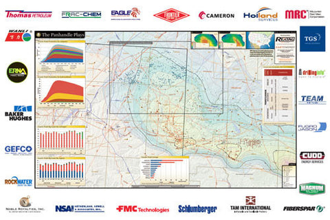 Panhandle Plays Shale Map