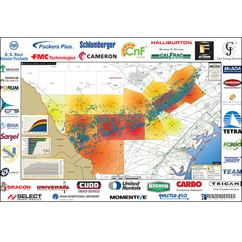 Eagle Ford Shale Drilling Activity Map