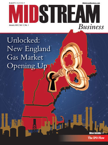 Midstream Business Magazine | January 2015 | Volume 5 | Issue 01
