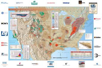U.S. Shale Resources Wall Map