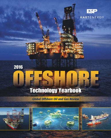 2016 Offshore Technology Yearbook - LIMITED SUPPLY