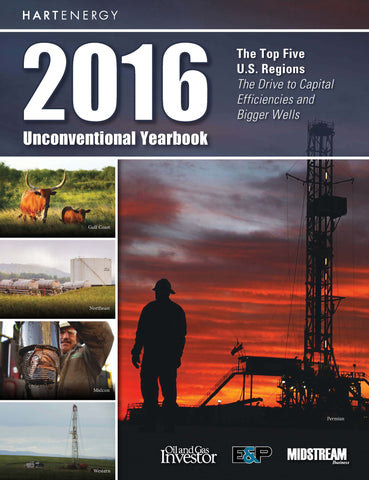 2016 Unconventional Yearbook - LIMITED SUPPLY