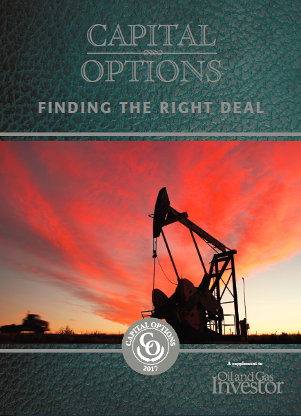 Capital Options Finding the Right Deal - Oil and gas energy finance