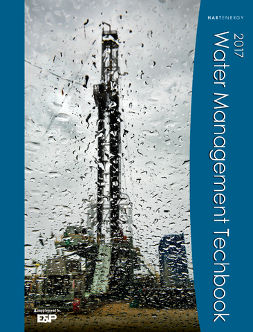 E&P oil and gas water management techbook
