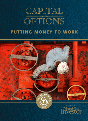 Capital Options Putting Money to Work - Oil and gas energy finance