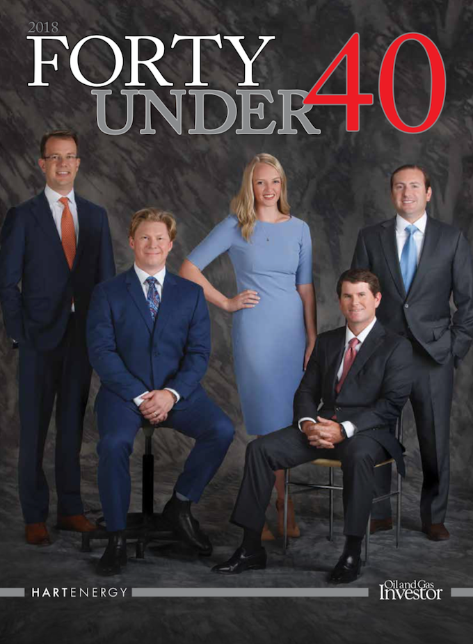 Oil and gas professionals, Forty Under 40
