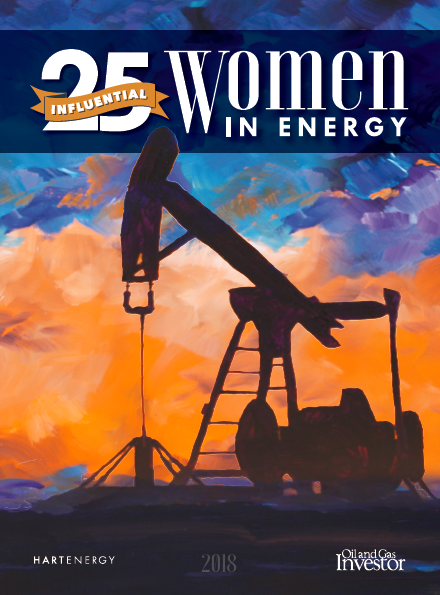 Influential women in energy, oil and gas - Oil and Gas Investor supplement