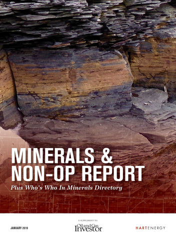 2019 Minerals & Non-Op Report and Directory