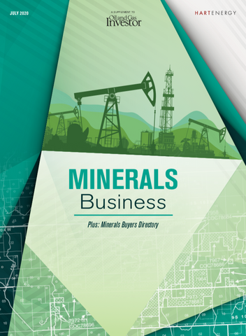 2020 Minerals Business and Buyers Directory