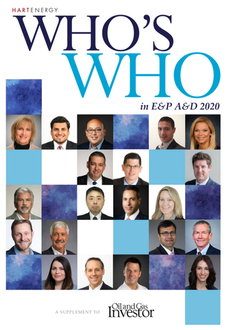 2020 Who's Who in E&P A&D Directory
