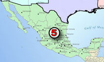 Crude Oil Pipeline System Digital GIS Data - Mexico