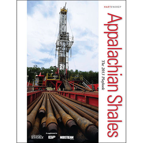 Appalachian Shale Playbook with Map
