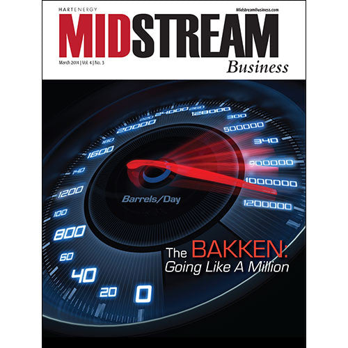 Midstream Business Magazine | March 2014 | Volume 4 | Issue 03