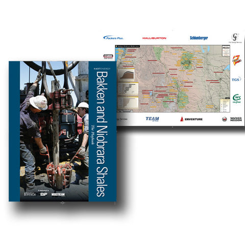Bakken Niobrara Playbook & Map Package
