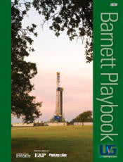 Barnett Shale Playbook includes Map