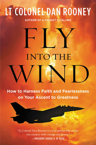 Fly Into The Wind by Dan Rooney