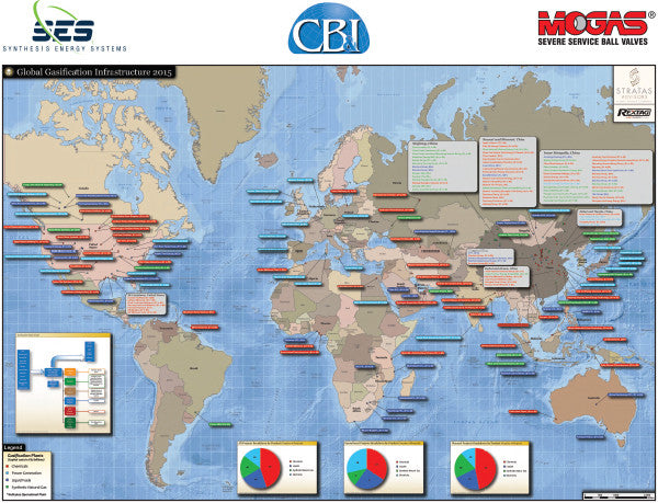 Global Gasification Infrastructure Map