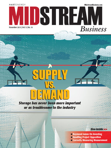Midstream Business Magazine | November 2015 | Volume 5 | Issue 10