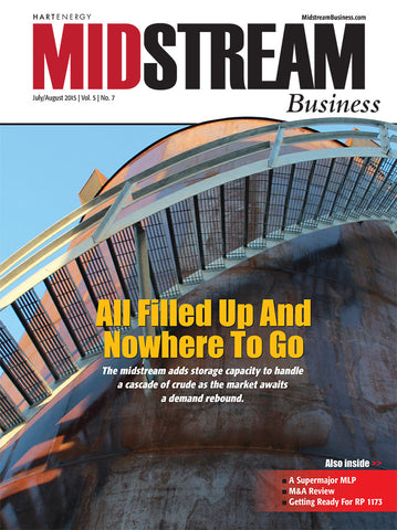 Midstream Business Magazine  | July/ August 2015 | Volume 5 | Issue 07