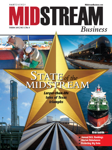 Midstream Business Magazine | October 2015 | Volume 5 | Issue 09