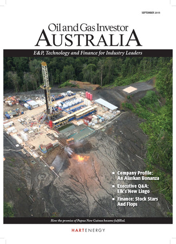 Oil and Gas Investor Australia Magazine - 2015 | Volume 2 | Issue 05