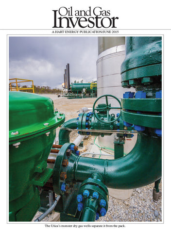 Oil and Gas Investor Magazine | June 2015 | Volume 35 | Issue 06