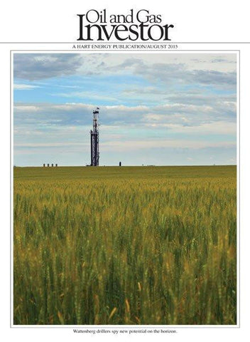 Oil and Gas Investor Magazine | August 2015 | Volume 35 | Issue 08
