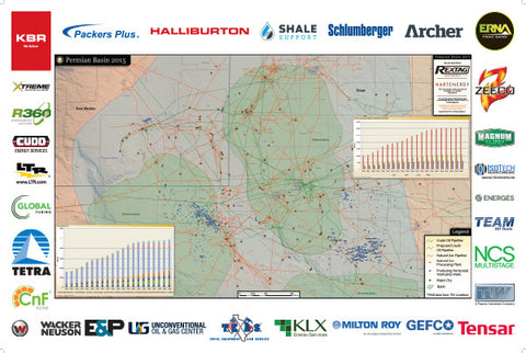 Permian Basin Shale Plays Map