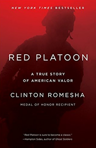 Military autographed book - Red Platoon by Clinton Romesha