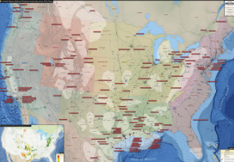 U.S. Refined Products Infrastructure Map