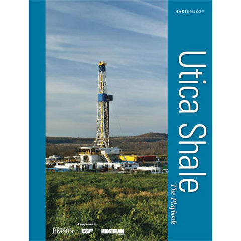 Utica Shale Playbook includes Map