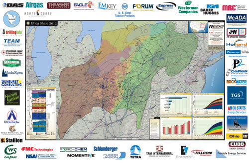 Utica Shale Map
