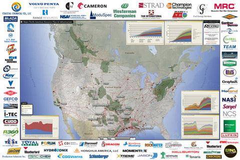 Major North American Resource Plays & Infrastructure