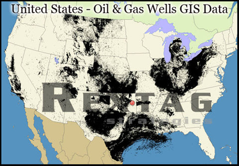 Oil & Gas Wells GIS Data - US