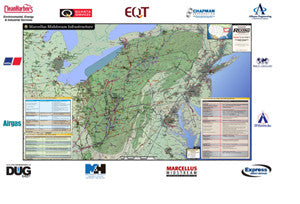Marcellus Infrastructure Map