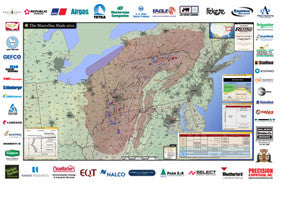 Marcellus Shale Production Map