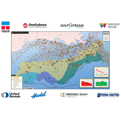 US GULF OF MEXICO Hart Energy Store - Us gulf map