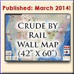 U.S. Crude By Rail Wall Map