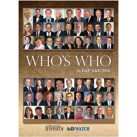 Who's Who in E&P A&D Directory 2014