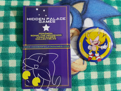 "1.5"" Fleetway Super Sonic Pinback Button"