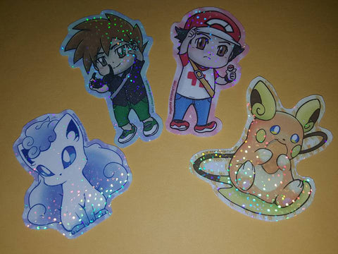 Pokemon Sparkle Stickers [Sun and Moon]