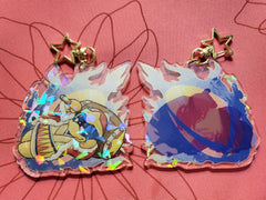 "3"" King Dedede Holographic Acrylic Keychain"