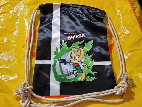 "17"" Fox McCloud Drawstring Bag"