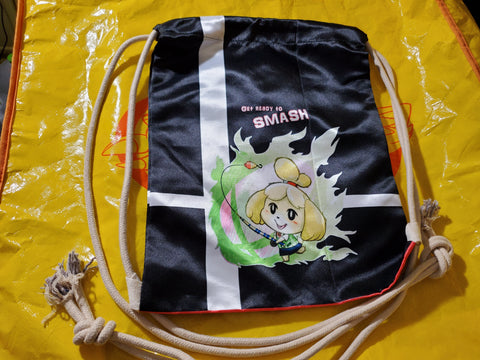 "17"" Isabelle Drawstring Bag"