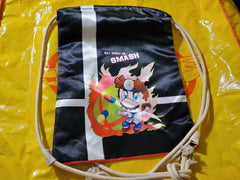 "17"" Dr. Mario Drawstring Bag"